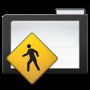 Dark, Folder, Public Icon
