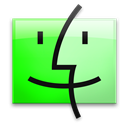 Finder, Leopard, Uranium Icon