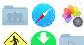 IOS 7 Desktop Icons