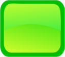 Green, Rectangle Icon