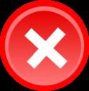 Delete, Exit, Remove Icon