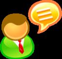 Discuss, Talk Icon