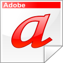 Adobe, Font, Letter, Type Icon