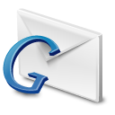 Blue, Gmail, Google Icon