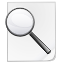 Document, Kghostview, Search Icon