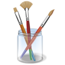 Brush, Color, Design, Draw, Paint Icon