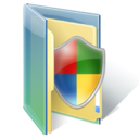 Folder, Shield, Windows Icon