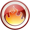 Fire, Nero Icon