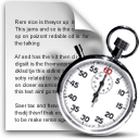 Clock, Cron, File, Schedule, Stopwatch Icon
