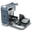 Apple, Face, Mac, Motherboard, Power Icon