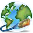 Earth, Internet, Network Icon