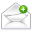 Add, Mail Icon