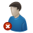 Delete, User Icon