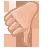 Hand, Vote Icon