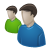 Forum, Two, Users Icon