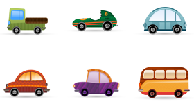 Car Icon Set Icons
