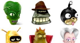 Futurama Icons