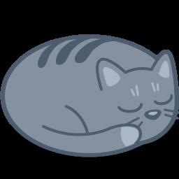Cat Sleep Icon Download Free Icons