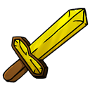 Gold, Sword Icon