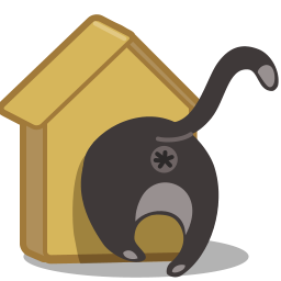 Birdhouse Cat Icon Download Free Icons