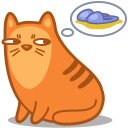 Cat, Slippers Icon