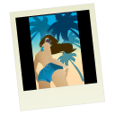 Pic, Polaroid Icon
