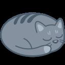 Cat, Sleep Icon