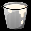 Bucket, Milk Icon