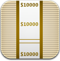 Money, Wrap Icon