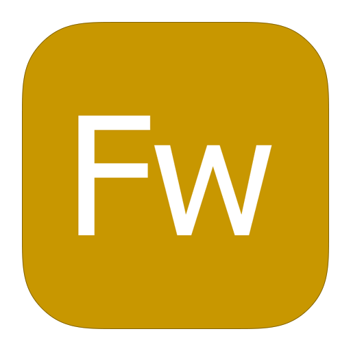 Adobe, Fireworks, Metroui Icon