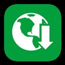 Download, Internet, Manager, Metroui Icon