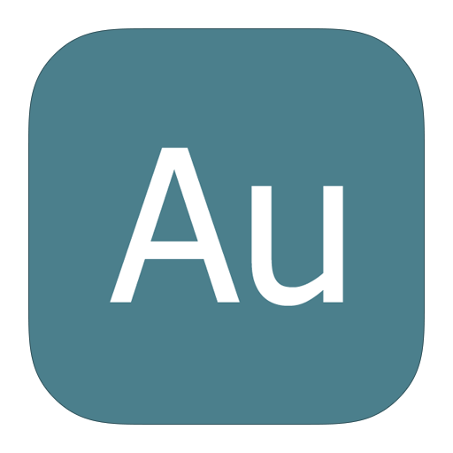 Adobe, Audition, Metroui Icon