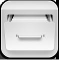 Filecab, White Icon