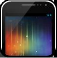 Galaxynexus, On, Phone, White Icon
