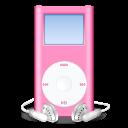 Ipod, Mini, Pink Icon