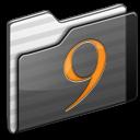 Black, Classic, Folder Icon