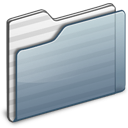 Folder, Generic, Graphite Icon