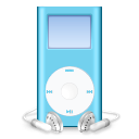 Blue, Ipod, Mini Icon