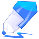 Blue, Pen Icon