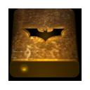 Bat, Drive, Orange, Texture Icon