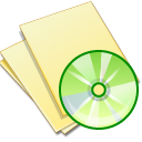 Documents, Music, Yellow Icon