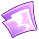 Folder, Grape Icon