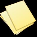 Documents, Yellow Icon