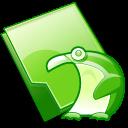 Folder, Penguin Icon