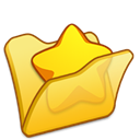 Favourite, Folder, Yellow Icon