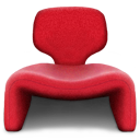 Chair, Djinn, Seater, Single Icon