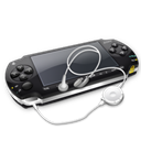 +, Headphones, Psp Icon