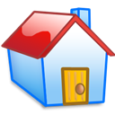 Home, Red Icon