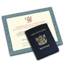 , &Amp, Citizenship, Passport Icon