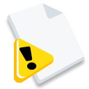 Attention, File Icon